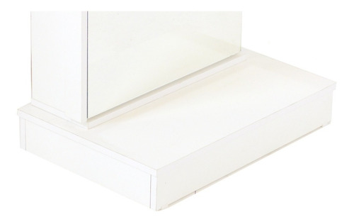 zapateros botinero porta cosmeticos multiuso con puerta espejo y base apoyo - 1427