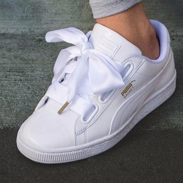 puma basket blancas