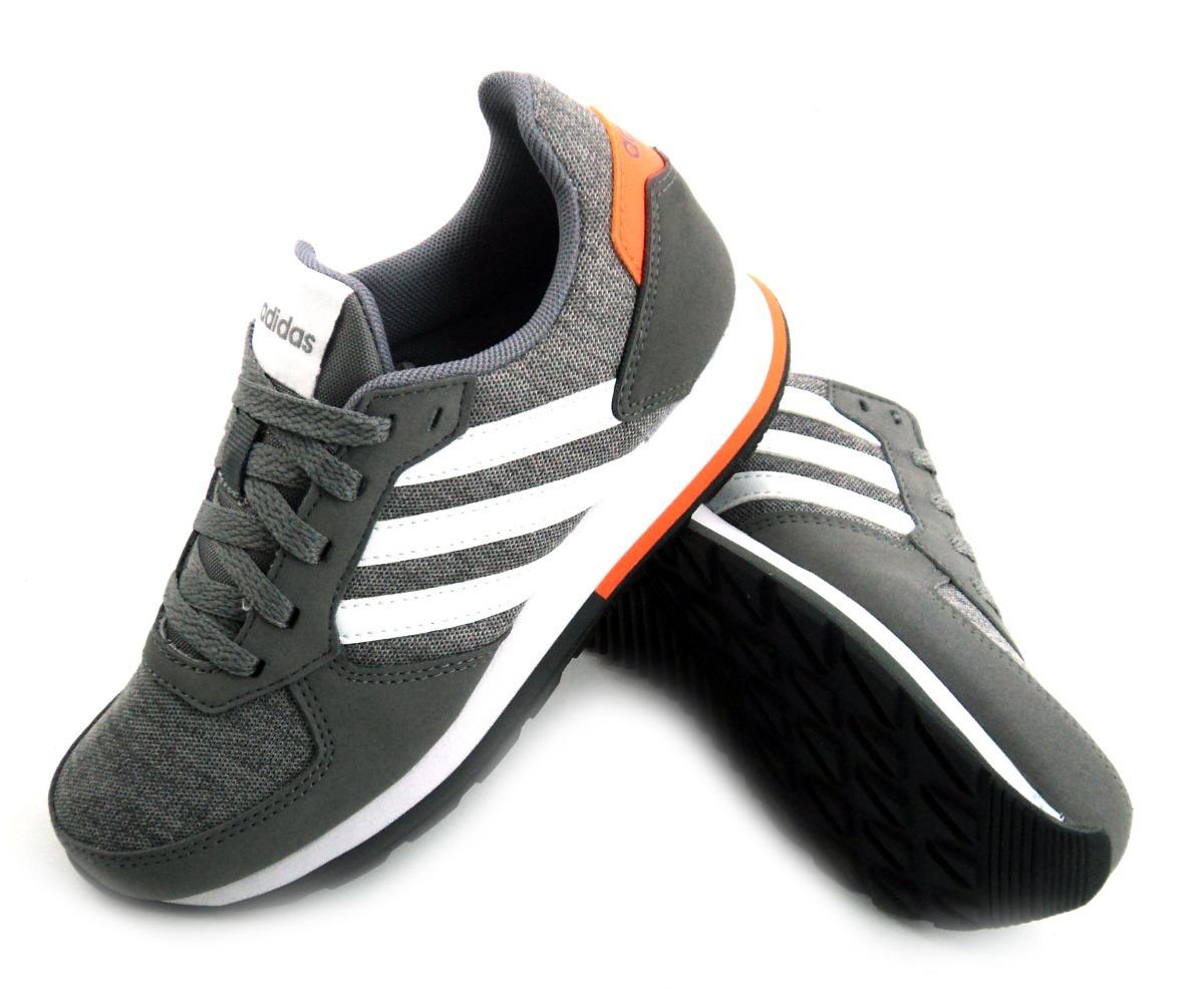 official photos c14e6 cea12 zapatilla adidas 8k gris naranja urbana niño eezap. Cargando zoom.