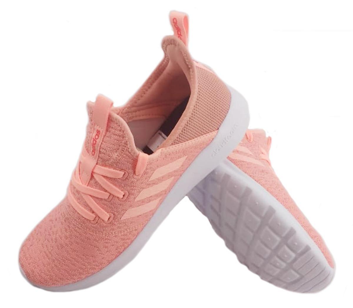 03924e1da1 zapatilla adidas cloudfoam pure rosa running mujer eezap. Cargando zoom.