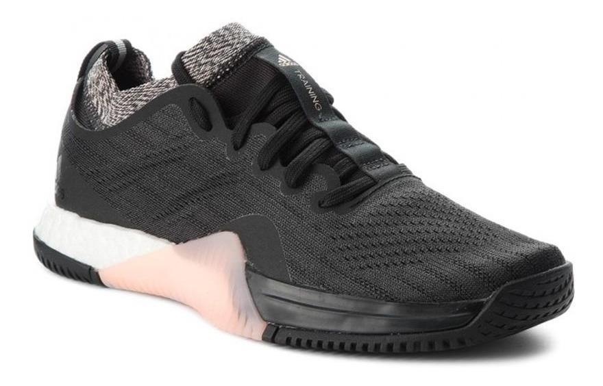 zapatillas adidas negro y rosa