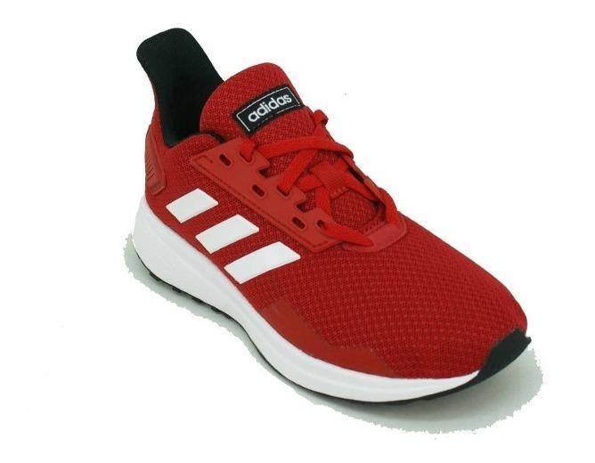 zapatillas adidas niño rojas