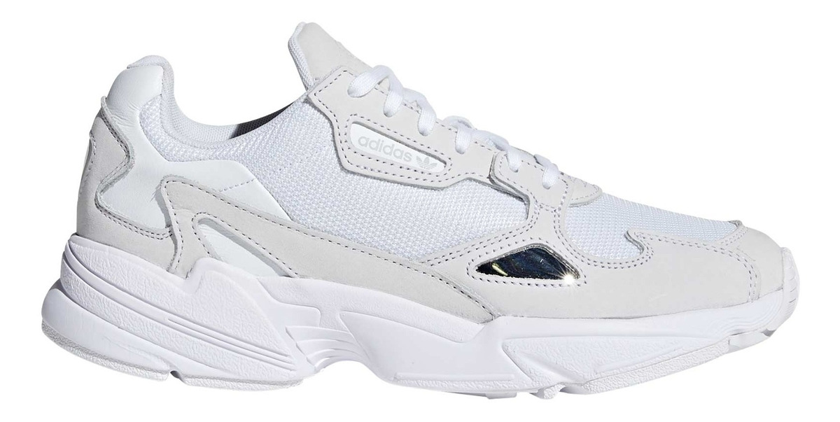 Zapatilla adidas Falcon Mujer Blanco