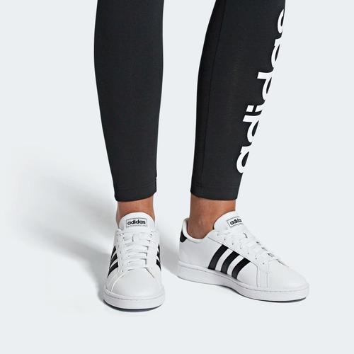 zapatillas adidas grand court mujer