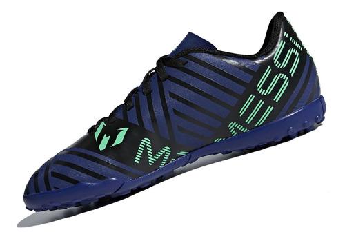 zapatilla adidas nemeziz messi tango 17.4 tf - azul
