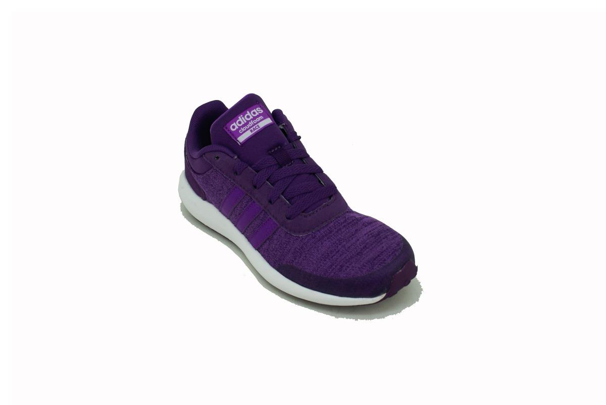adidas neo violetas