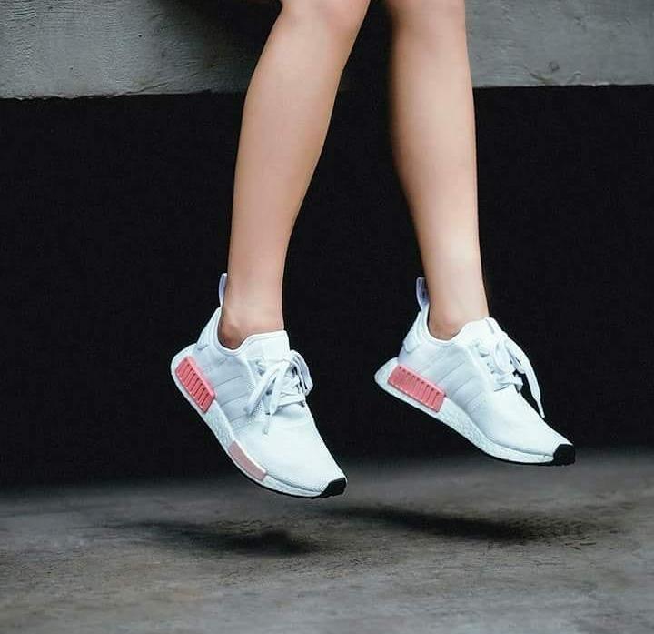 Zapatilla adidas Nmd Mujer Color Blanco