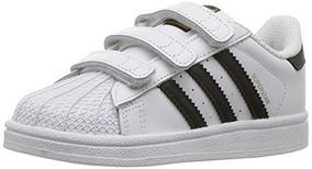 df0bcc022 Zapatillas Adidas Superstar Tela Negra en Mercado Libre México