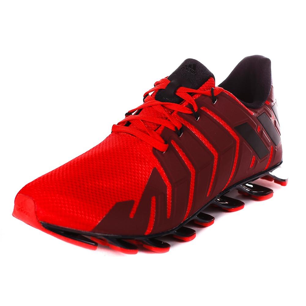 zapatillas rojas hombre adidas