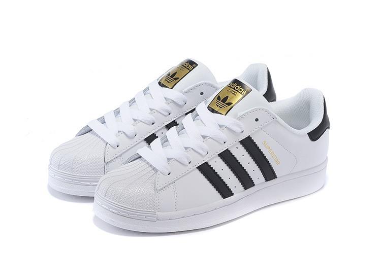 zapatillas adidas blanco con negro