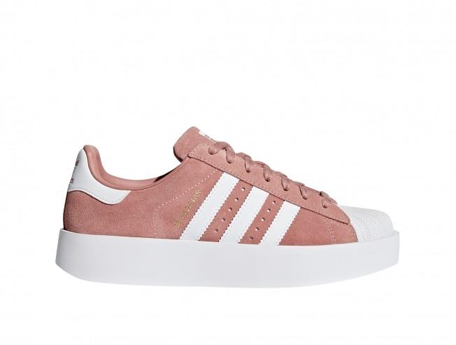 online retailer 3b497 447c9 ... sale zapatilla adidas superstar bold w mujer rosa cq2827 3c947 bafa8