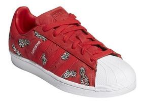 zapatillas adidas originals mujer rojas
