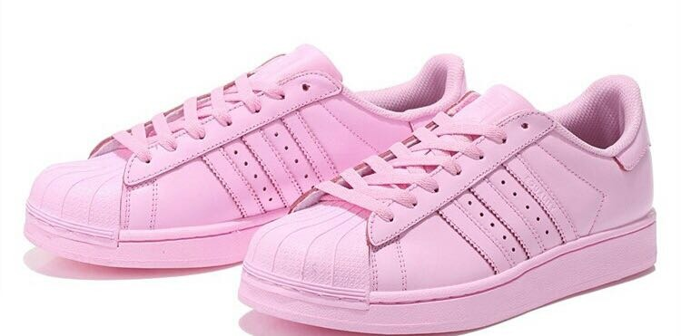 adidas superstar rosa