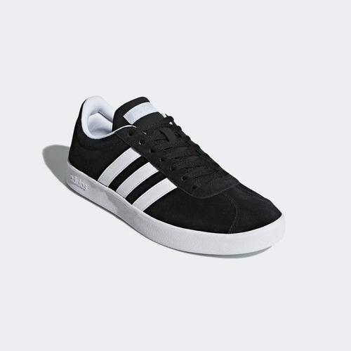 zapatilla adidas vl court 2.0 negra para mujer ndpm