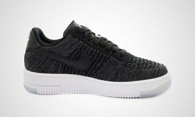 6048445b Nike Air Force Negras Y Blancas Mujer - Ropa y Accesorios en Mercado ...