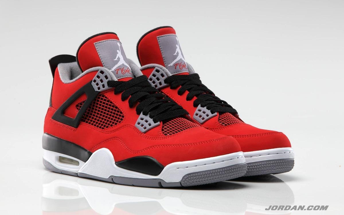 Air Jordan 4 rojas