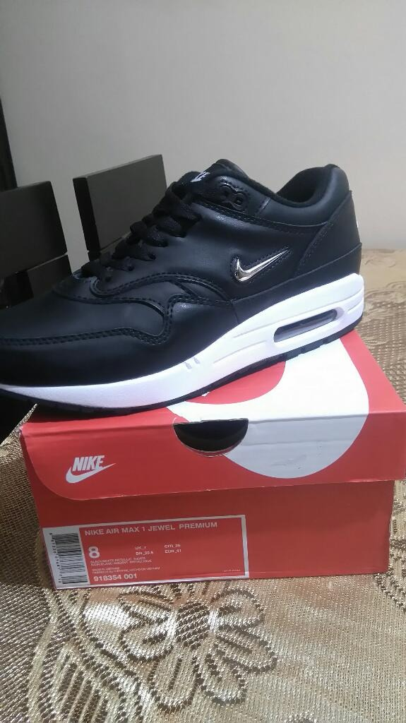Zapatilla Air Max 1 Jewel Blackmodelo 2018 Original