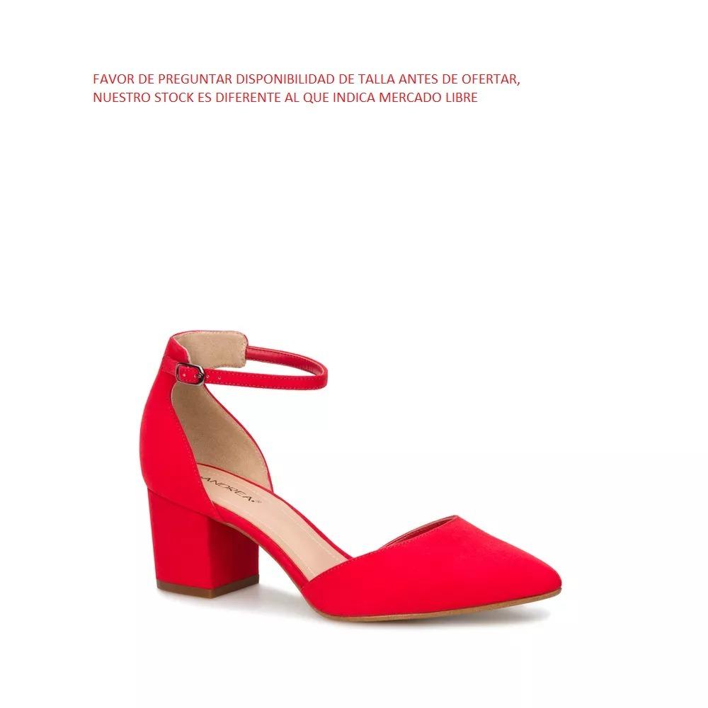 620ee9b1e24 Zapatilla Ankle Strap Doble Ancho Mujer 6 Cm De Altura -   699.00 en ...