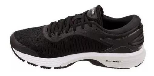 zapatillas asics running mujer negras