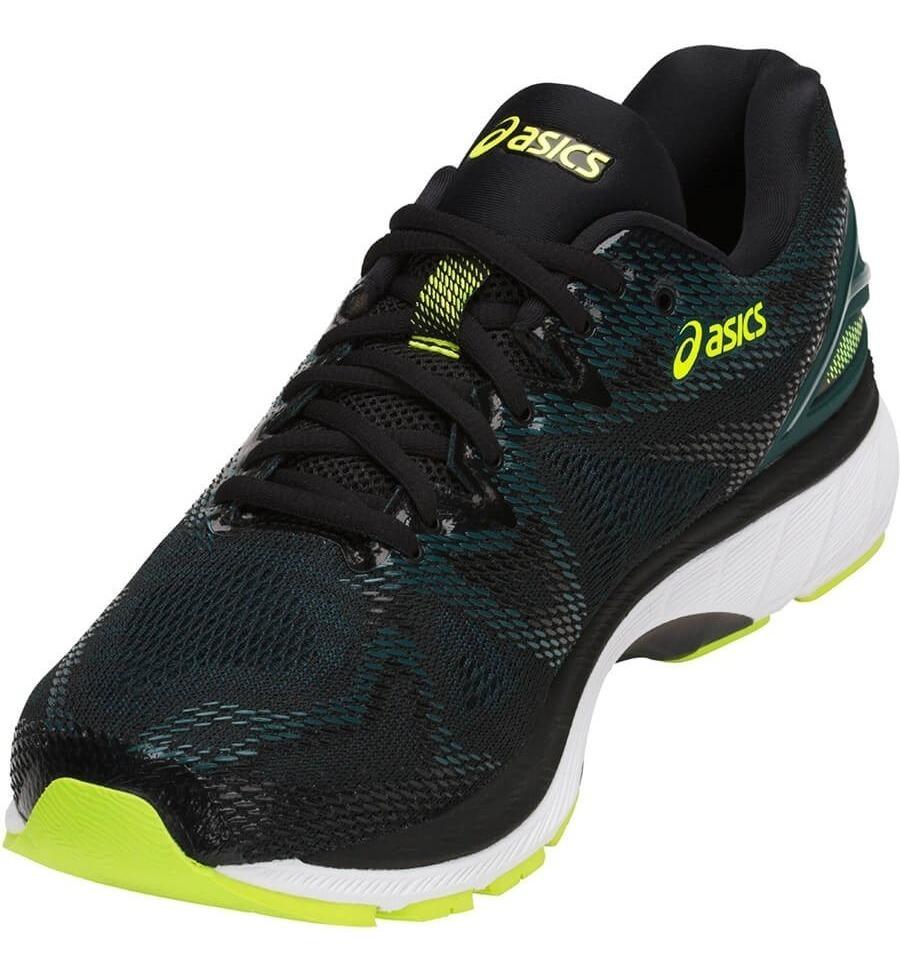 zapatillas asics running hombre verde