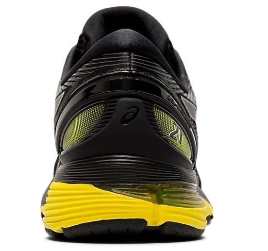 d8f742292 Zapatilla Asics Gel Nimbus 21 Negro amarillo Hombre Running ...