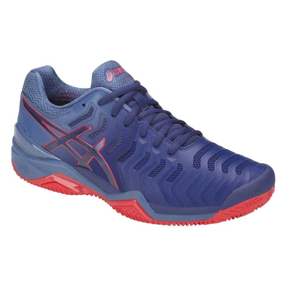 dfd734740 zapatilla asics gel resolution 7 clay tenis-padel azul. Cargando zoom.