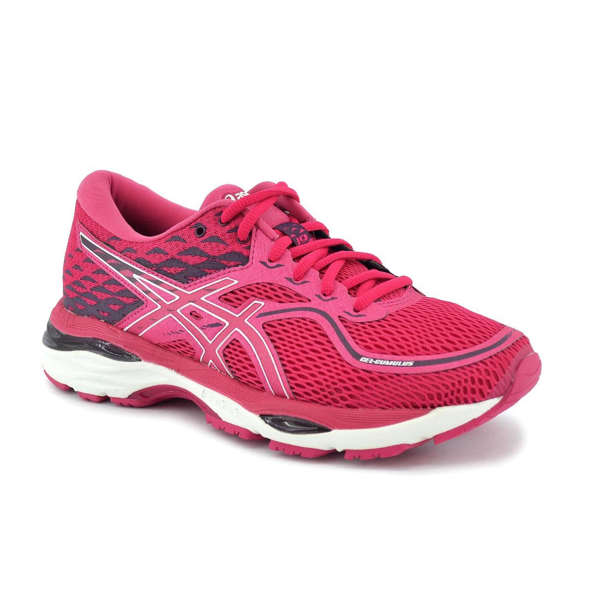 asics mujer running gel rosa