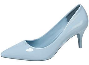 Mujer Relajada 184916 Love Zapatilla Look Pastel Azul Kitten LjRq354A