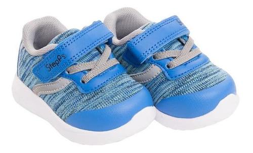 zapatilla blue flame azul stepps