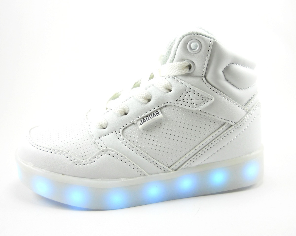 bfcffff8c zapatilla bota jaguar con luces para niños urbano. Cargando zoom.