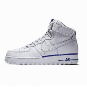 Gris Mid Bota Air Zapatilla Nike Txt Force 1 Azul fgb76Yy