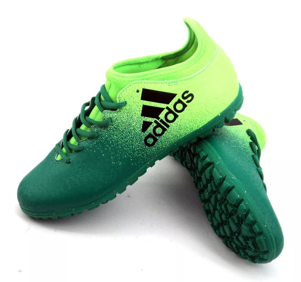 quality design c0569 0064b zapatilla botín adidas x 16.3 tf verde hombre eezap. Cargando zoom.