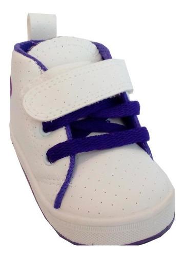 zapatilla botita bebes marca pampero modelo justi