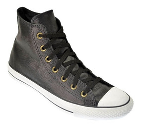 converse all star negras cuero