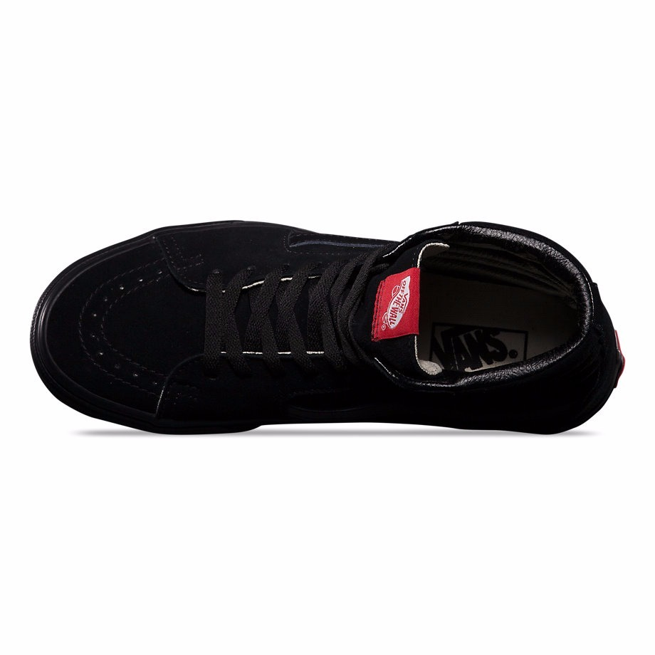 zapatilla botita vans sk8 hi negro suela negra 100%original. Cargando zoom. 12e30eb4e4d