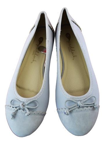 zapatilla calzado paddock chatitas balerina de dama mvdsport