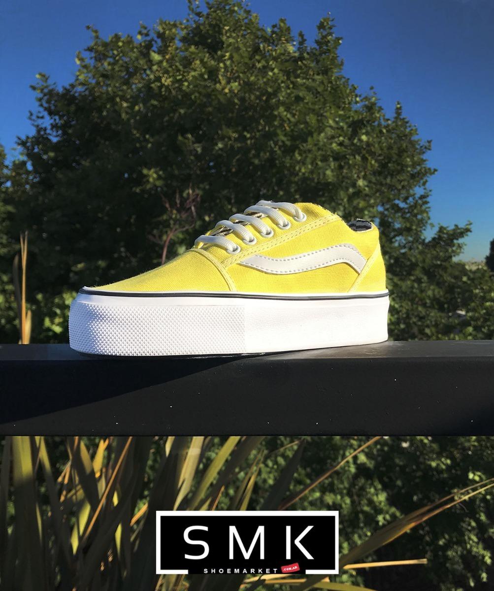290f19c43e9 zapatilla con plataforma modelo venice amarilla. Cargando zoom.