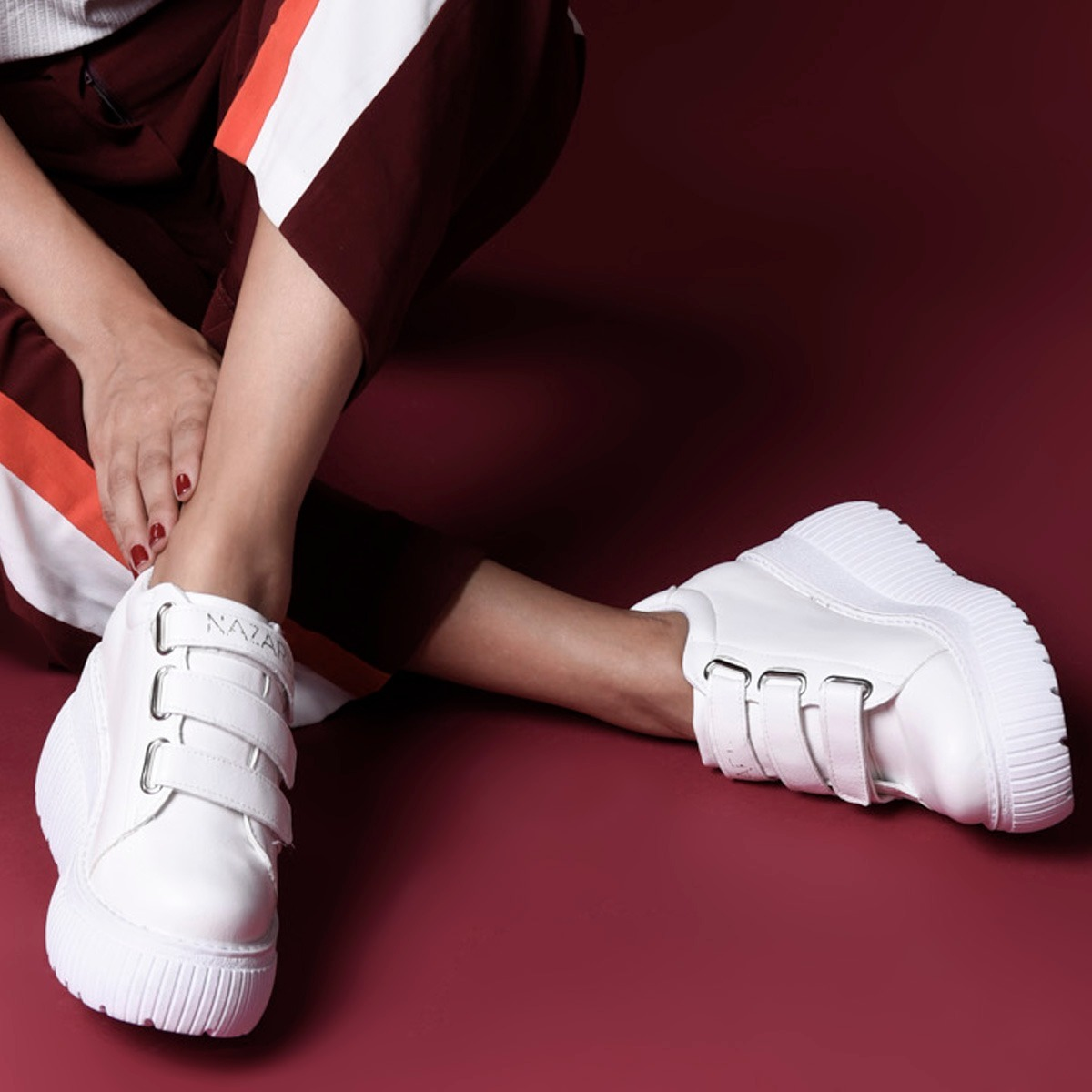 talla 40 lindo baratas zapatos clasicos Zapatilla Con Plataforma Varios Colores | Nazaria