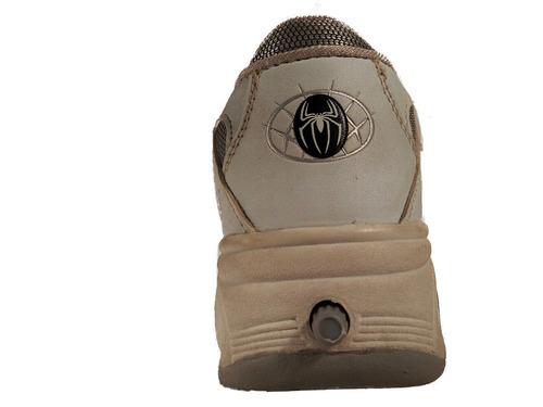 zapatilla con ruedas boton hombre ultimo par 31 shoestore