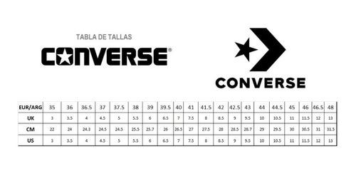 zapatilla converse all star chuck taylor origal cuero unisex