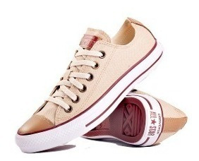 all star converse mujer marron
