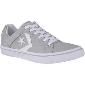 zapatillas converse grises