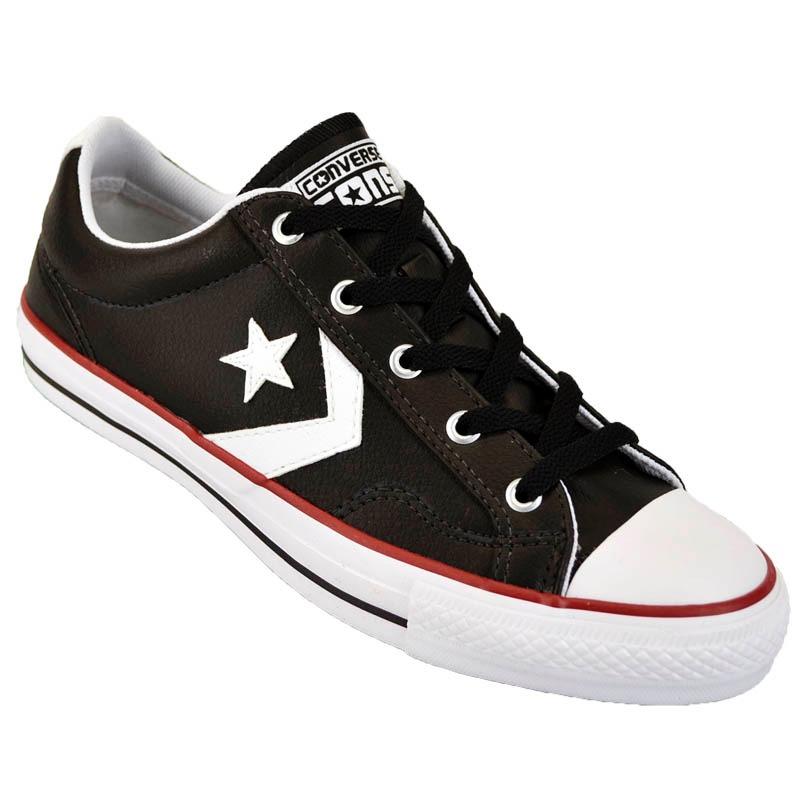 1e3752a5a663 ... switzerland zapatilla converse all star player cuero original negro. cargando  zoom. 0a045 871e3
