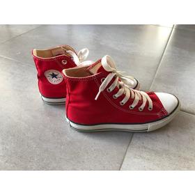 Zapatilla Converse All Star Roja T35