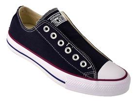 Zapatilla Converse All Star Slip Sin Cordon Original Negro
