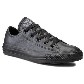 zapatillas de cuero hombre converse