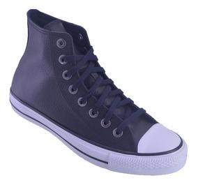 zapatillas converse hombres cuero