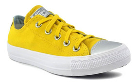 converse amarilla mujer