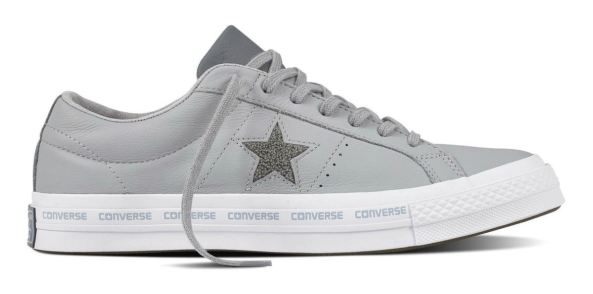 zapatillas converse hombres gris