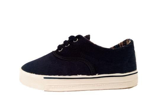 zapatilla cordon corderoy textil niño ultimo par29 shoestore